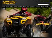 Dwain S Service Centre Ltd's website