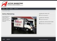 Active Marketing's website