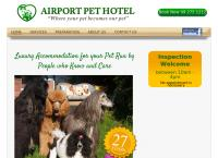 Airport Pet Hotel's website
