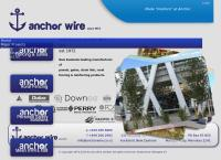 Anchor Wire Ltd's website