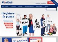 Aoraki Polytechnic's website