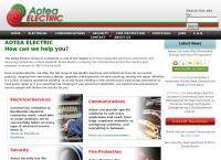 Aotea Electric Canterbury Ltd's website