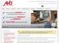 AVO New Zealand's website