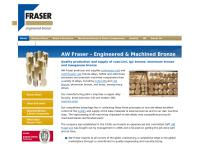 Aw Fraser Ltd - Engineered Bronze's website