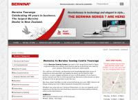 Bernina Sewing Centre Ltd's website