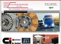 Clutch Systems  Ltd's website