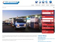 Daily Freight Ltd's website