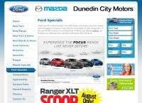 Dunedin City Ford - Ford in Dunedin's website