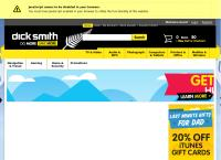 Dick Smith Electronics Ltd's website