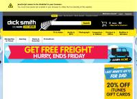 Dick Smith Electronics's website