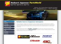 Dodson S Autospares Ltd's website