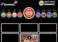 Domino S Pizza - Howick's website