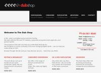 The Dub Shop Ltd's website