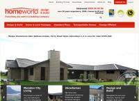 Homeworld Design & Build's website
