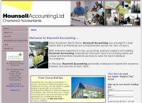 Hounsell Accounting Ltd's website