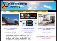 Independent Power  Ltd's website