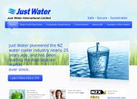 Just Water International Limited's website