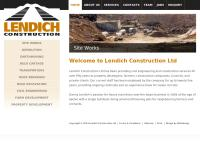 Lendich Construction Ltd's website