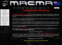 Macma Machinery's website