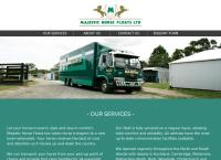 Majestic Horse Floats Ltd's website