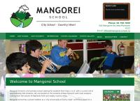 Mangorei School's website
