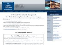 Monad Pacific Management Ltd's website