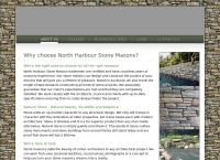North Harbour Stone Masons's website