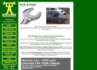 Pick a Part's website