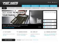 Post Haste Couriers's website