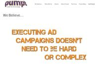 Pumpt Advertising's website