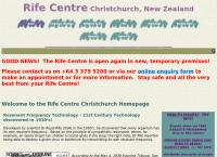 Rife Centre Christchurch's website