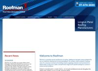 Roofman Roof Manufacturers Limited's website