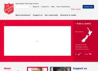 The Salvation Army Bridge Programme's website