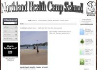 Northland Health Camp School's website