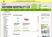 Southern Hospitality Ltd's website