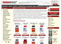 TasmanHealth - Natural Health Supplements's website