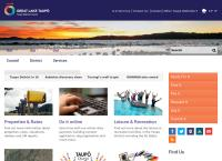 Taupo Library's website