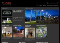 Thorn Lighting  Ltd's website