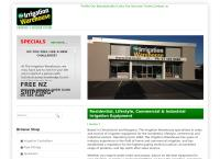 Irrigation Warehouse's website