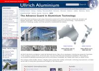 Ullrich Aluminium Co Ltd's website