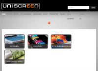 Uniscreen Group's website