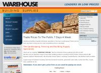 Warehouse Building Supplies Henderson's website