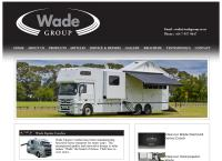 Wade Group Ltd's website