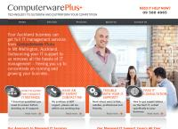 Computerware Plus Ltd's website
