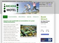 Arcadia Motel's website