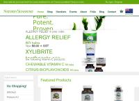 Natures Sunshine Products  Ltd's website