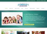 Angels Kelston Park Childcare Centre's website