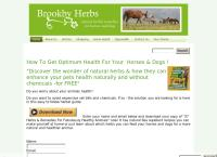 Brookby Herbs's website