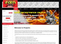 Pro Parts's website