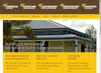Freeman Roofing's website